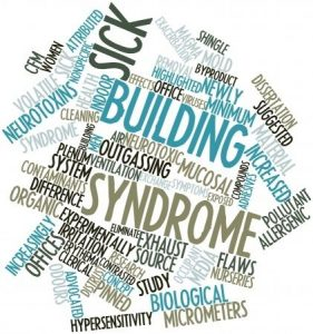 sbs, sick building syndrome, health and safety at work