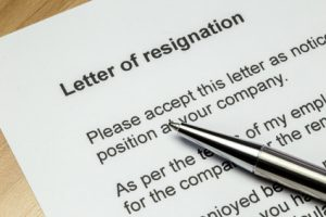 quitting your job, quitting, resignation, resignation letter